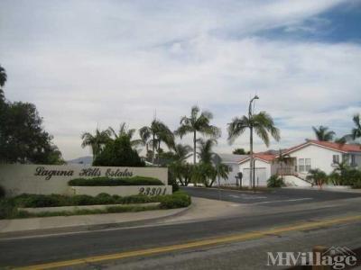 Mobile Home Park in Laguna Hills CA