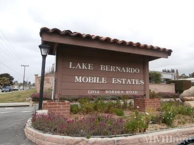 Mobile Home Park in Escondido CA