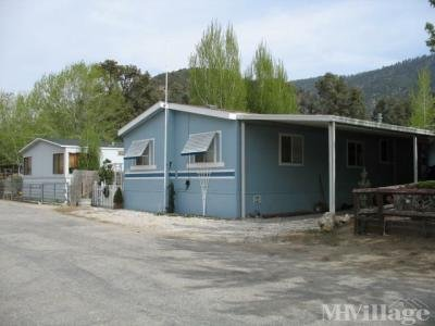 Mobile Home Park in Frazier Park CA
