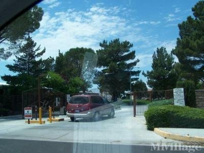 Mobile Home Park in Lancaster CA
