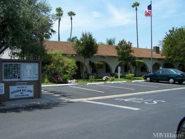 Photo of Mission Del Amo Mobile Home park, Westminster, CA