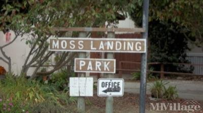Mobile Home Park in Moss Landing CA