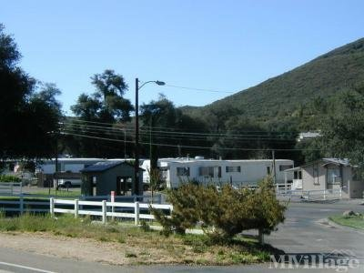 Mobile Home Park in Guatay CA