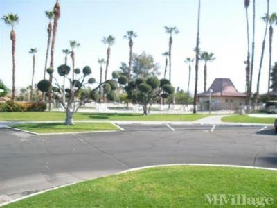 Mobile Home Park in Rancho Mirage CA