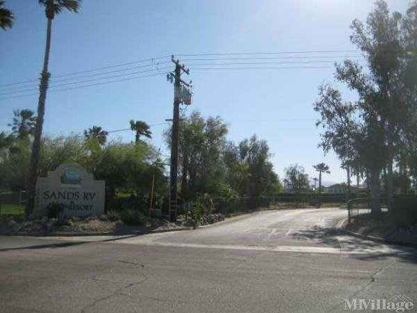 Photo of The Sands RV & Golf Resort, Desert Hot Springs, CA