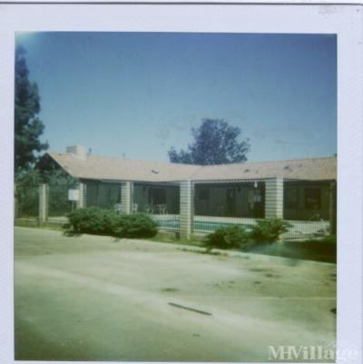 Mobile Home Park in Shafter CA