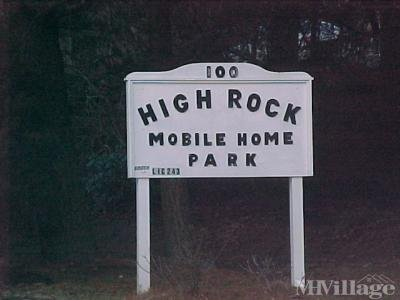High Rock Mobile Home Park