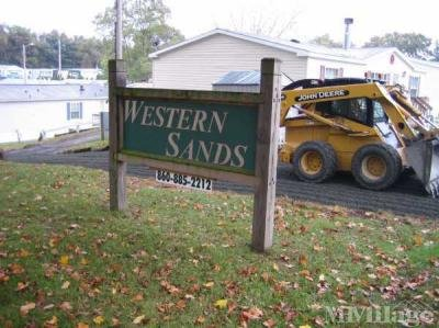 Entrance to Western Sands Rte.150
