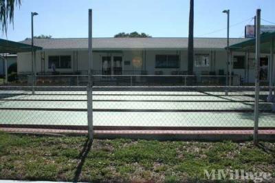 Shuffleboard Court/Clubhouse