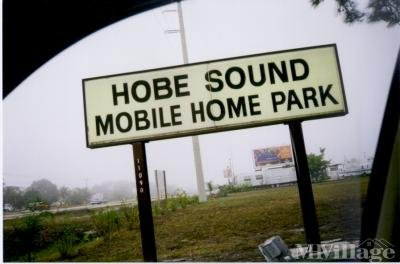 Mobile Home Park in Hobe Sound FL