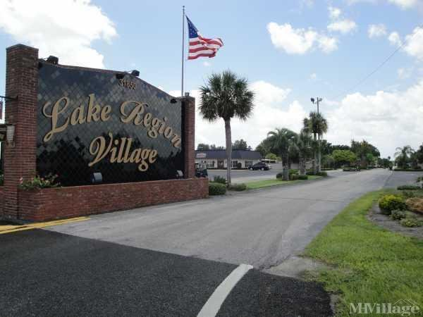 Lake Region Village Mobile Home Park in Haines City, FL