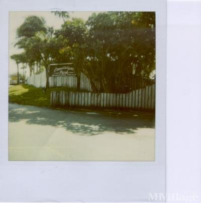 Mobile Home Park in Fort Lauderdale FL