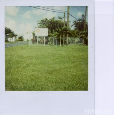 Mobile Home Park in Dania FL