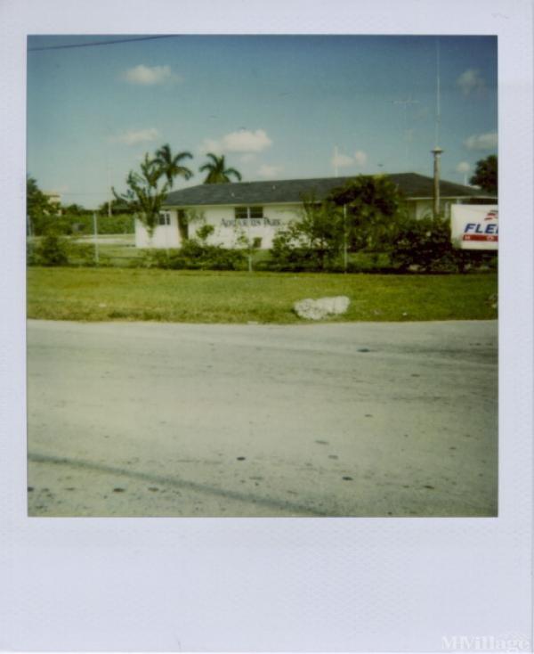Photo of Aquarius Mobile Home Park, Homestead, FL