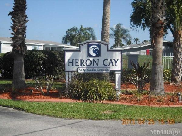 Heron Cay Mobile Home Park in Vero Beach, FL