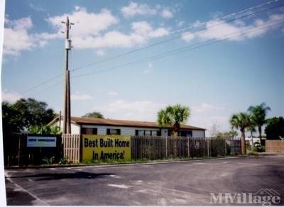 Mobile Home Park in Sebastian FL