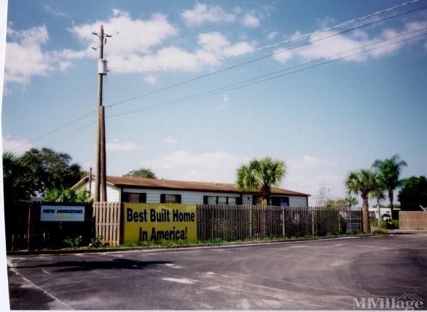 Photo of New Horizons Mobile Home Park, Sebastian, FL