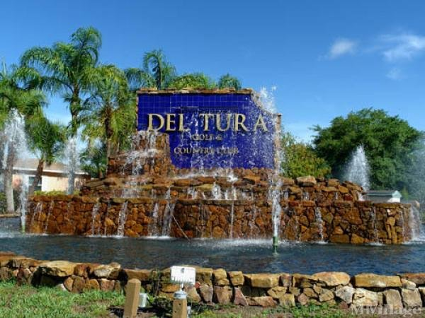 Del Tura Country Club Mobile Home Park in North Fort Myers, FL