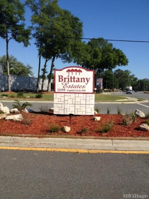Brittany Estates Mobile Home Park Mobile Home Park in Tallahassee, FL