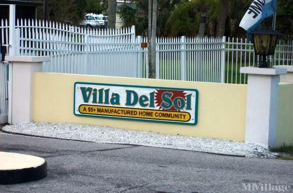 Villa Del Sol Mobile Home Park Mobile Home Park in Sarasota, FL