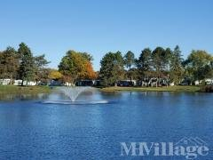 Private Lake with Fountain