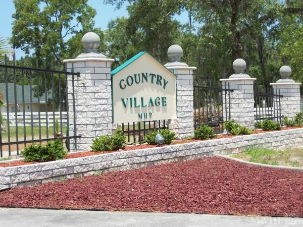 Country Village Mobile Home Park Mobile Home Park in Hudson, FL