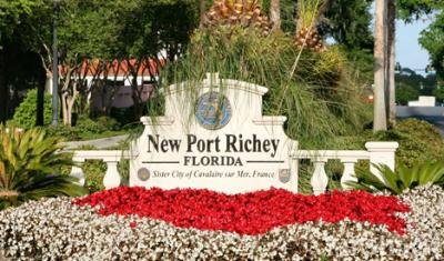 New Port Richey Sign