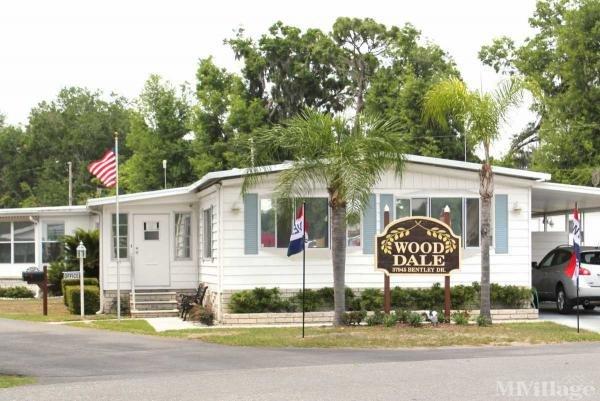 Wood Dale Mobile Home Park Mobile Home Park in Zephyrhills, FL