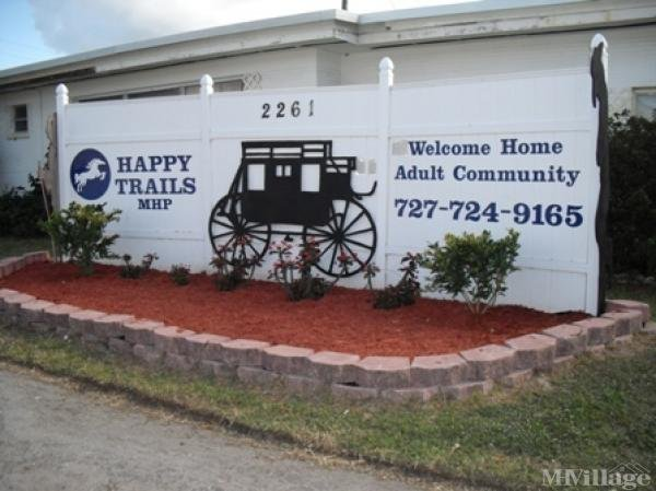 Happy Trails Mobile Park Mobile Home Park in Clearwater, FL