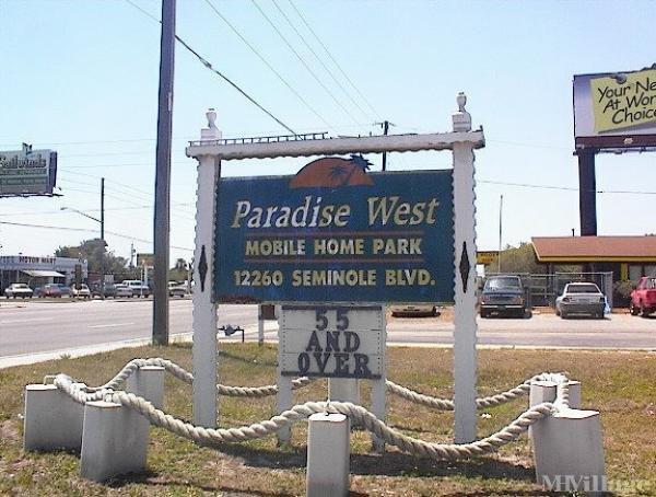 Photo 1 of 2 of park located at 12260 Seminole Blvd Largo, FL 33778