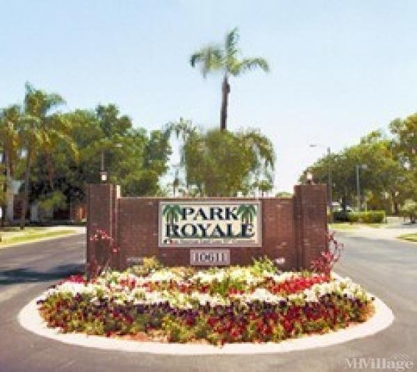 Park Royale Mobile Home Park in Pinellas Park, FL