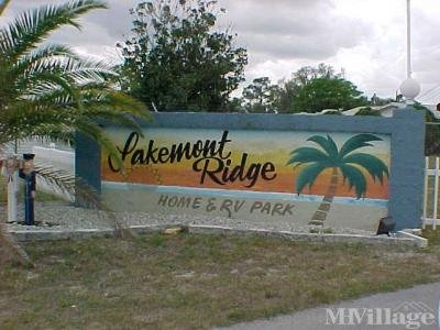 Mobile Home Park in Frostproof FL