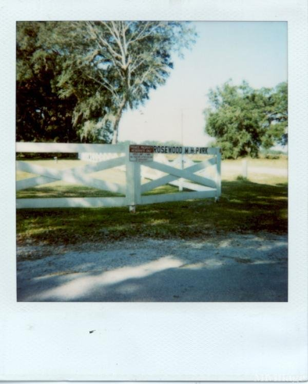 Photo of Rosewood Mobile Home Park, Bushnell, FL