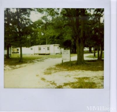 Mobile Home Park in Cottondale FL