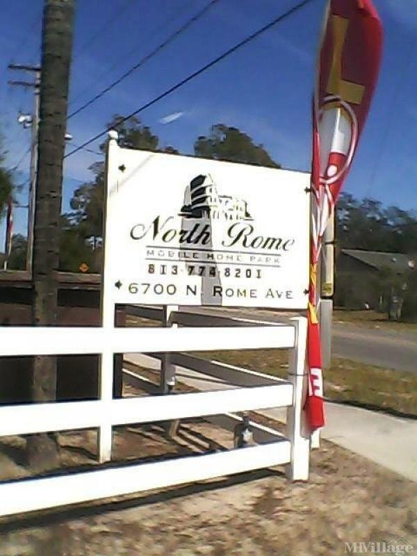 North Rome Mobile Home Court Mobile Home Park in Tampa, FL