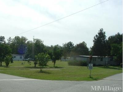 Mobile Home Park in Thomasville GA