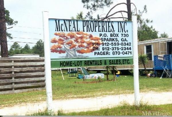 Mcneal Properties, Inc Mobile Home Park in Hazlehurst, GA