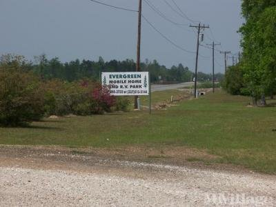 Mobile Home Park in Deridder LA