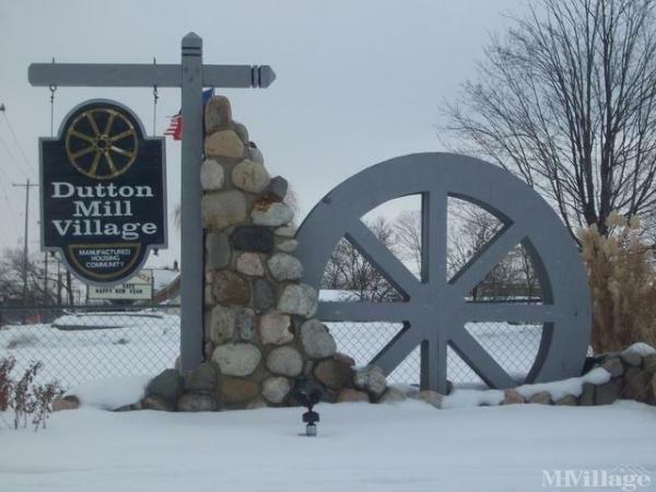 Dutton Mill Village Mobile Home Park in Caledonia, MI
