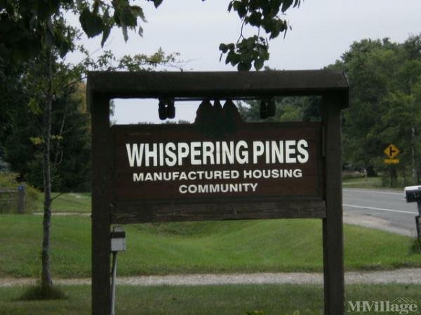 Whispering Pines Mobile Home Park in Sparta, MI