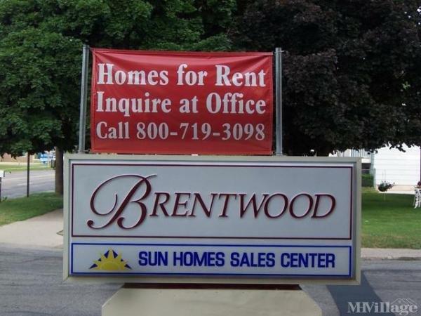 Brentwood Village Mobile Home Park in Kentwood, MI
