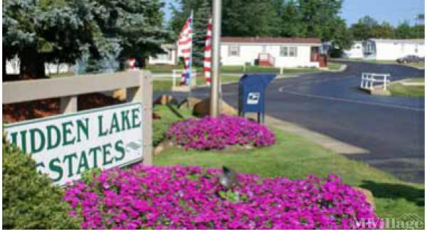 Hidden Lake Estates Mobile Home Park in Leonard, MI