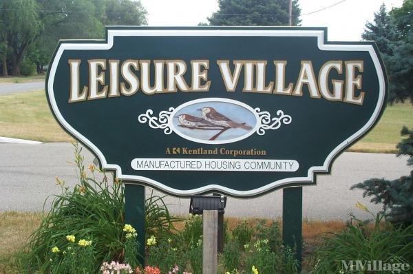 Leisure Village Mobile Home Park in Belmont, MI