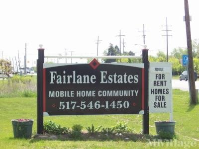 Mobile Home Park in Howell MI