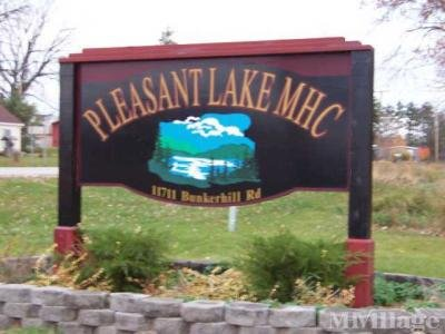 Mobile Home Park in Pleasant Lake MI