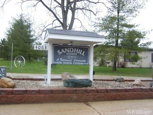 Sand Hill Estates Mobile Home Park in Attica, MI