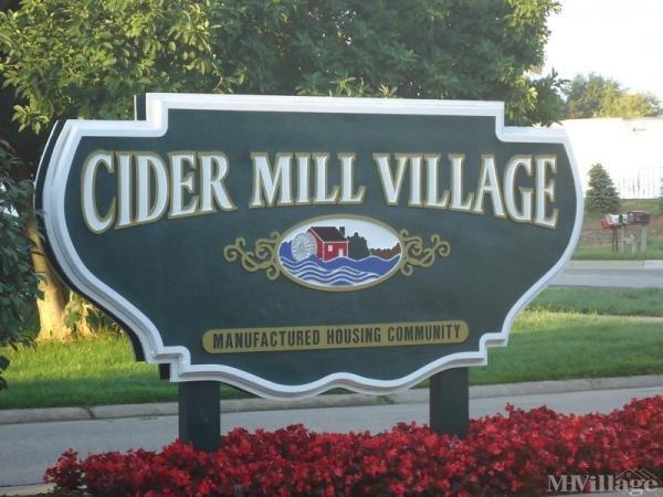 Cider Mill Village Mobile Home Park in Middleville, MI