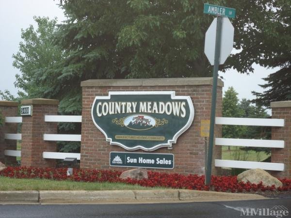 Country Meadows Village Mobile Home Park in Caledonia, MI
