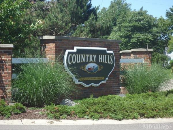 Country Hills Village Mobile Home Park in Hudsonville, MI
