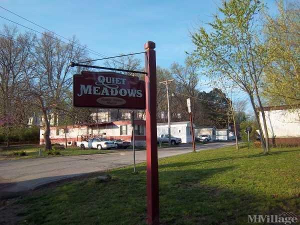 Quiet Meadows Mobile Home Park in High Ridge, MO